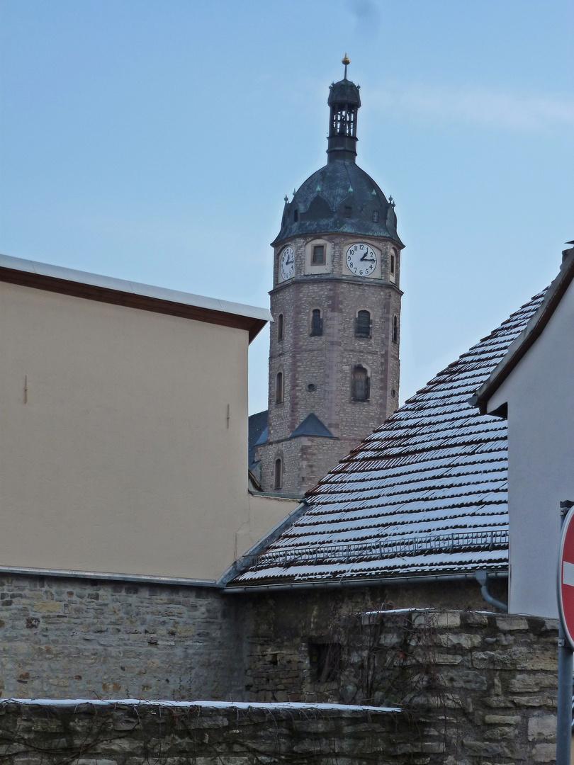 Blick zur Jacobikirche