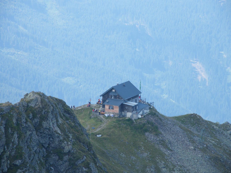 Blick zur Kellerjochhütte