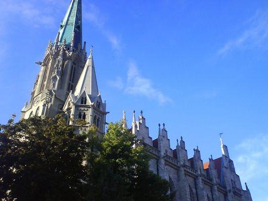 Blick zur Marienkirche 1