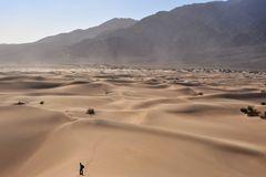 Blick zurück über die Dünen bei Stopewipe Wells