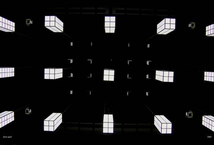 Blicke zum Glasdach