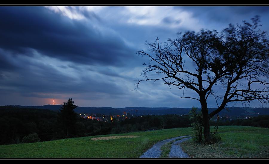Blitz im Welzheimer Wald