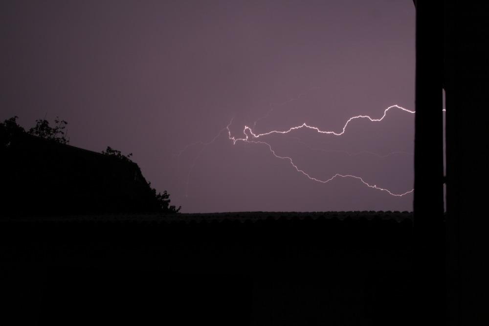 Blitz in Bodersweier