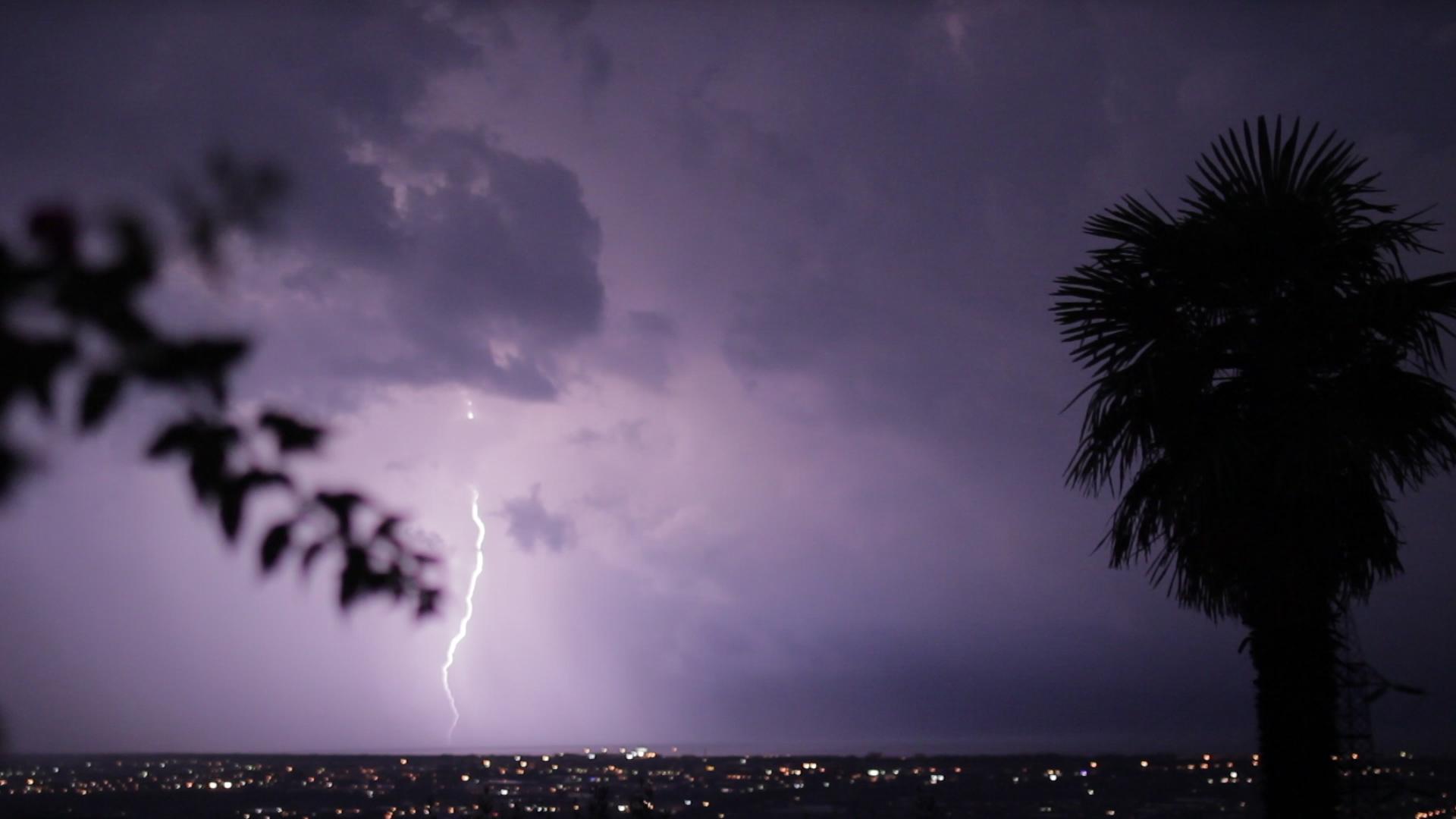 Blitz in Camaiore ( Italien )