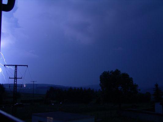 Blitz ohne Blitz