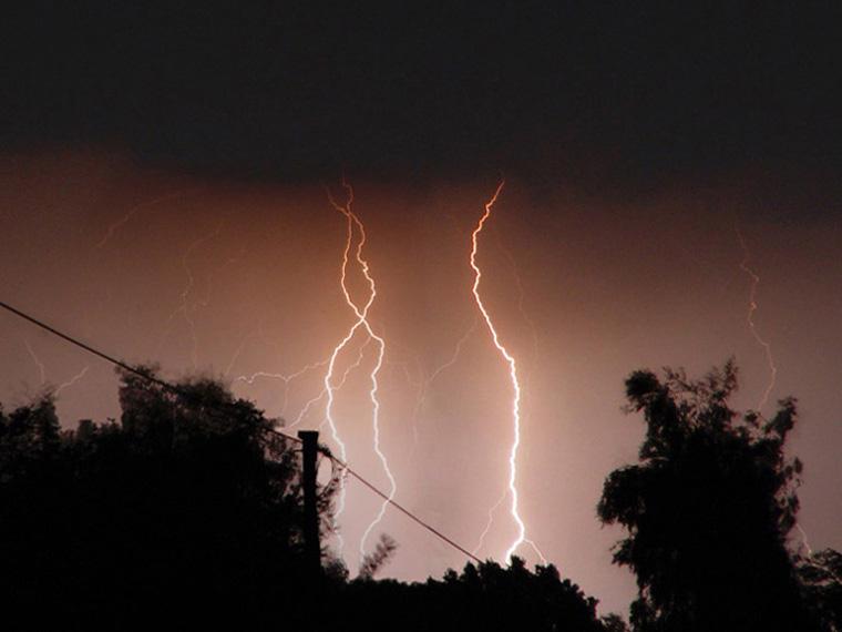 Blitz ohne Donner