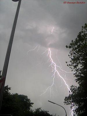 Blitz über Diako (Flensburg)