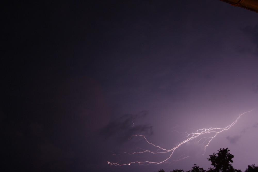 Blitz zu später Stunde