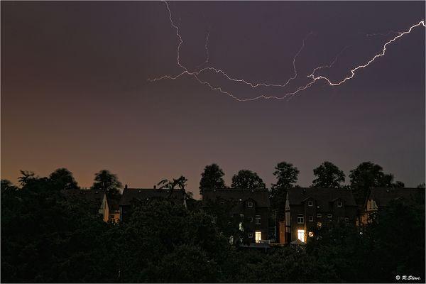 Blitze am Abend