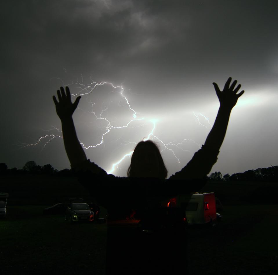 Blitze schleudernder Zeus ?