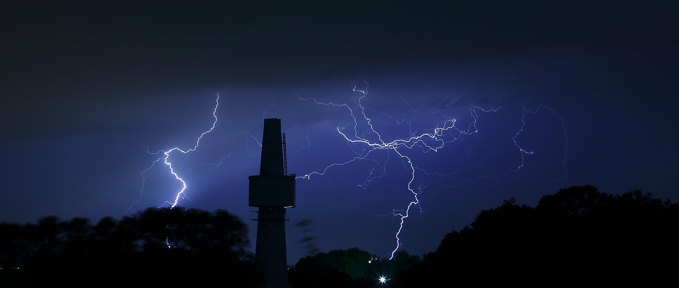 Blitze über derOstsee