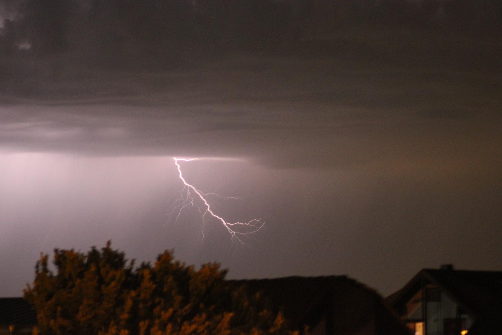 Blitze über Groß-Umstadt