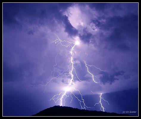 Blitzeinschlag beim Säli Schlössli (Olten)