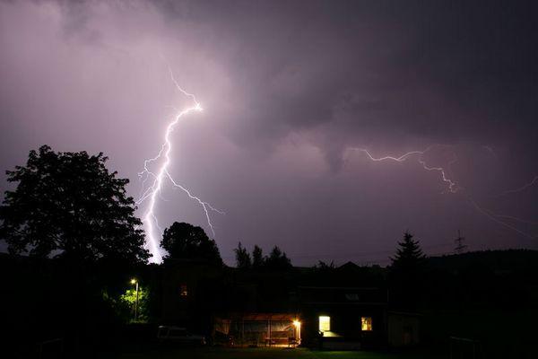 Blitzeinschlag Quohrener Kipse