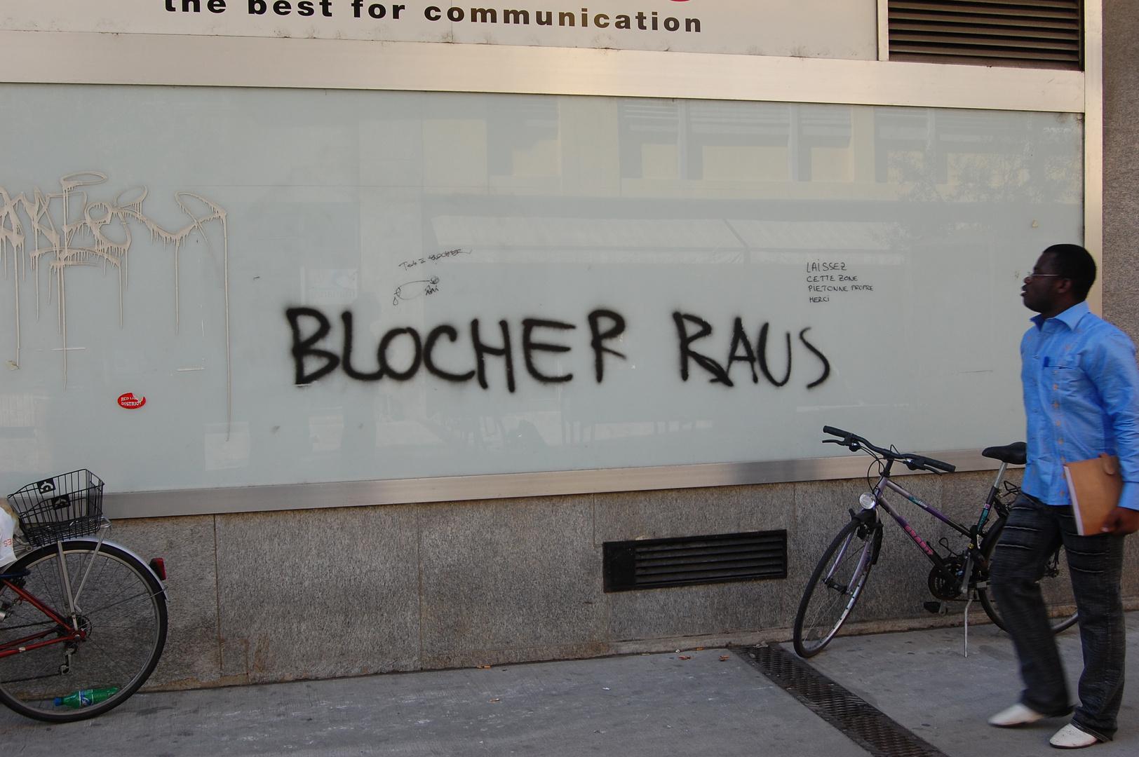 Blocher raus