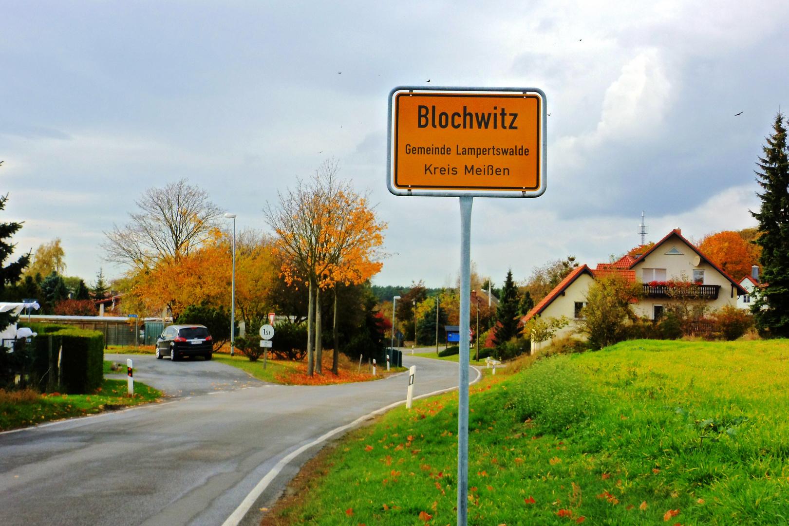 Blochwitz- ein Dörfchen im LKR Meissen