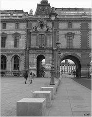 Blocs de béton, au Louvre... # 1
