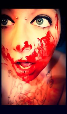 Bloody.