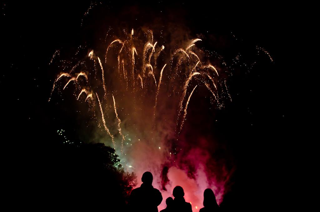 bloody fireworks