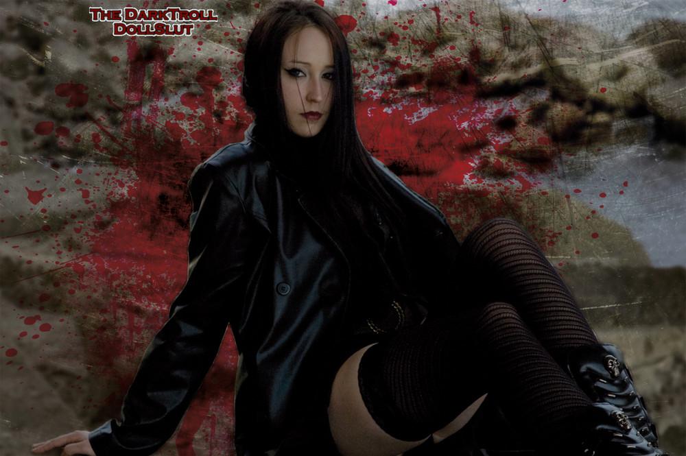 Bloody girl 04...