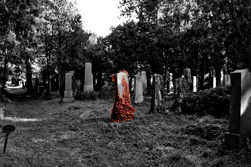 bloody tombstone