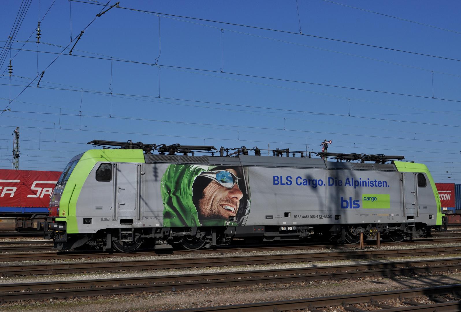 BLS Cargo, Die Alpinisten