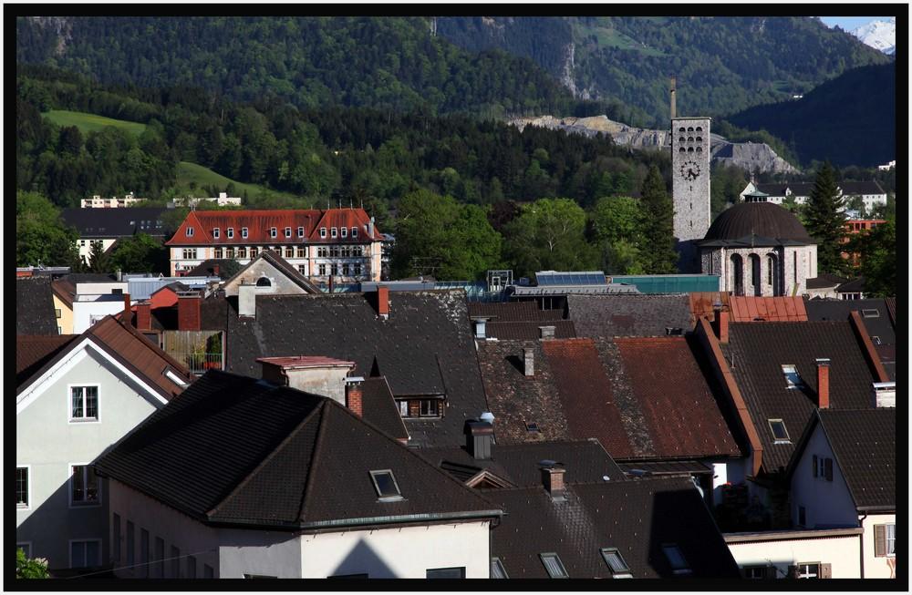 Bludenzer Dachlandschaft