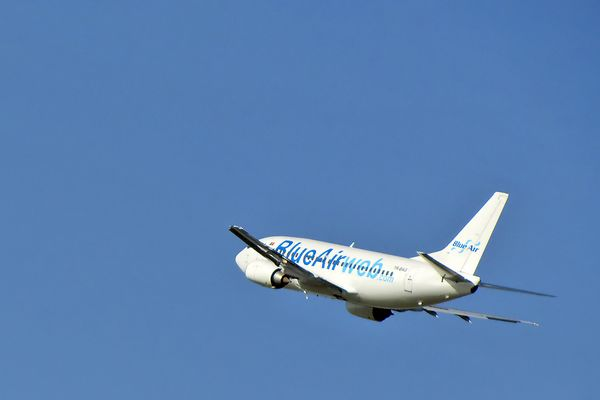 Blue Air into the blue