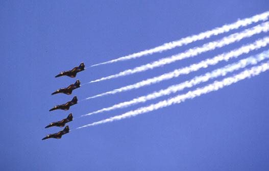 """""""Blue Angels"""", F 16-Kunstflugstaffel, USA"""