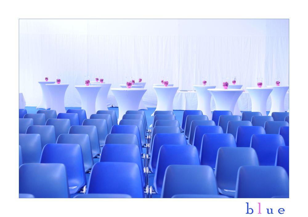 bLue - bevor die Gäste kommen...