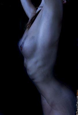 ... blue body ...