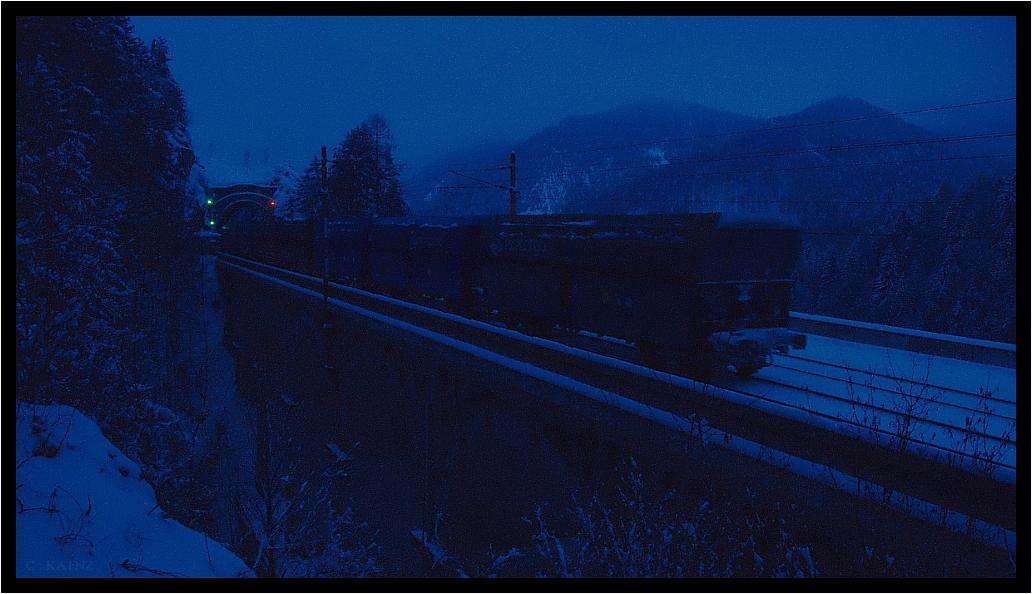 Blue Coal Train