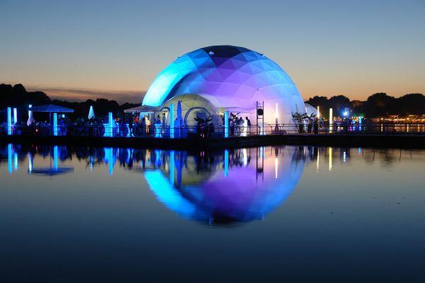 """Blue """"Dome2"""""""