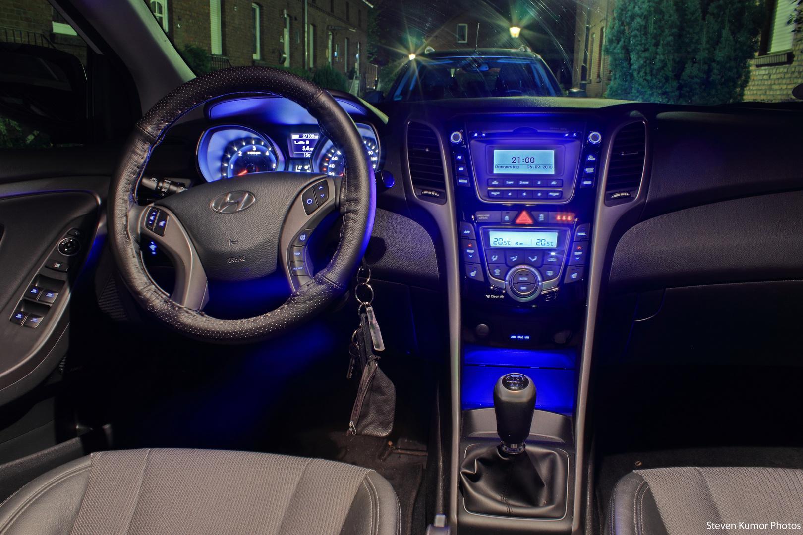 Blue dominant Lights...
