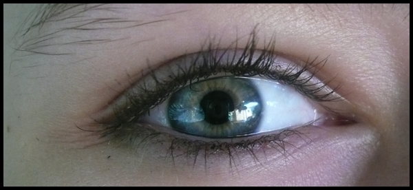 blue eye.
