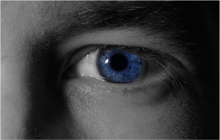 """ blue eye """