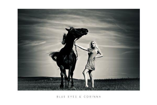 Blue Eyes und Corinna