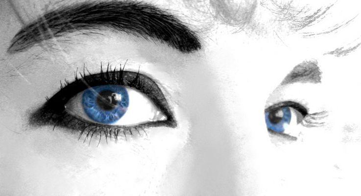 Blue Eyes Watching