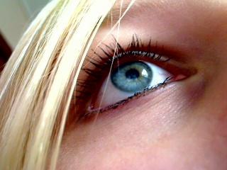 Blue eyes x3