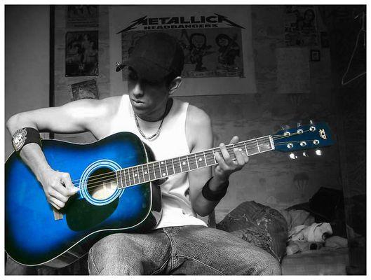 Blue Guitare