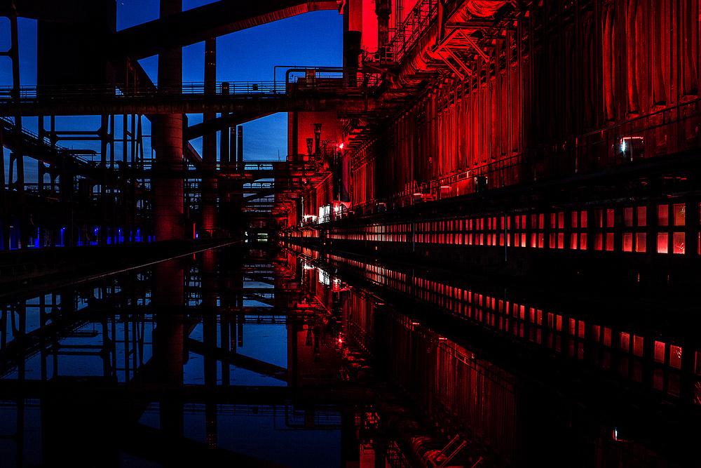 Blue Hour Alte Kokerei Zollverein