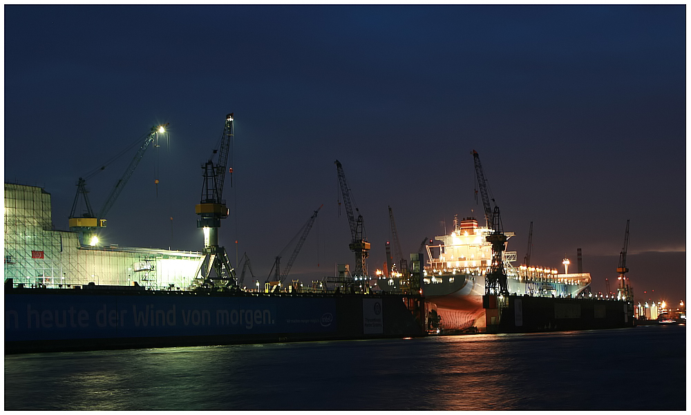 Blue Hour @ Dock 11