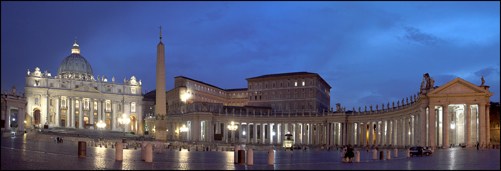 ... blue hour in Rome ...