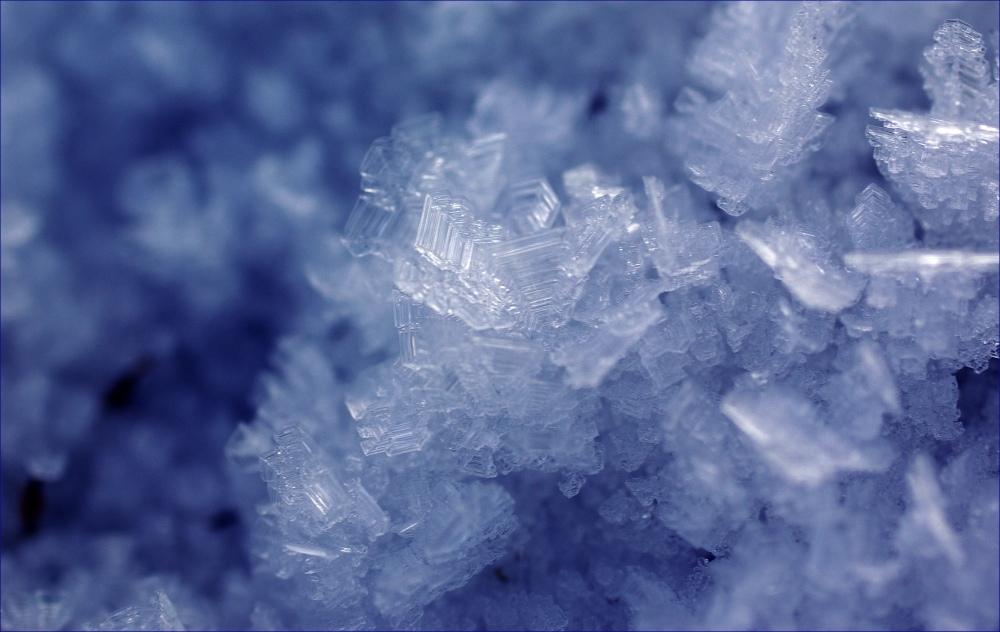 ... blue ice ...