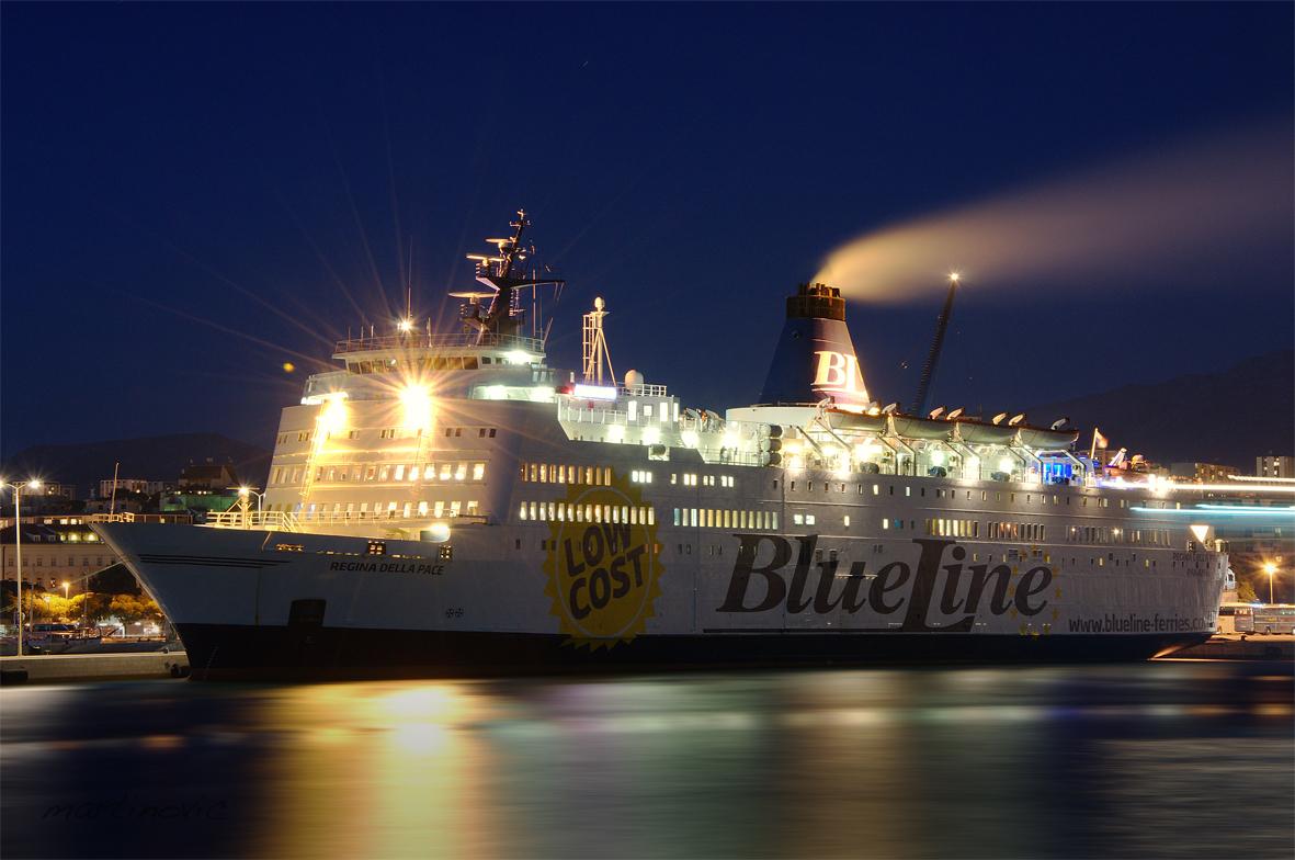 blue line ferries_hafen split