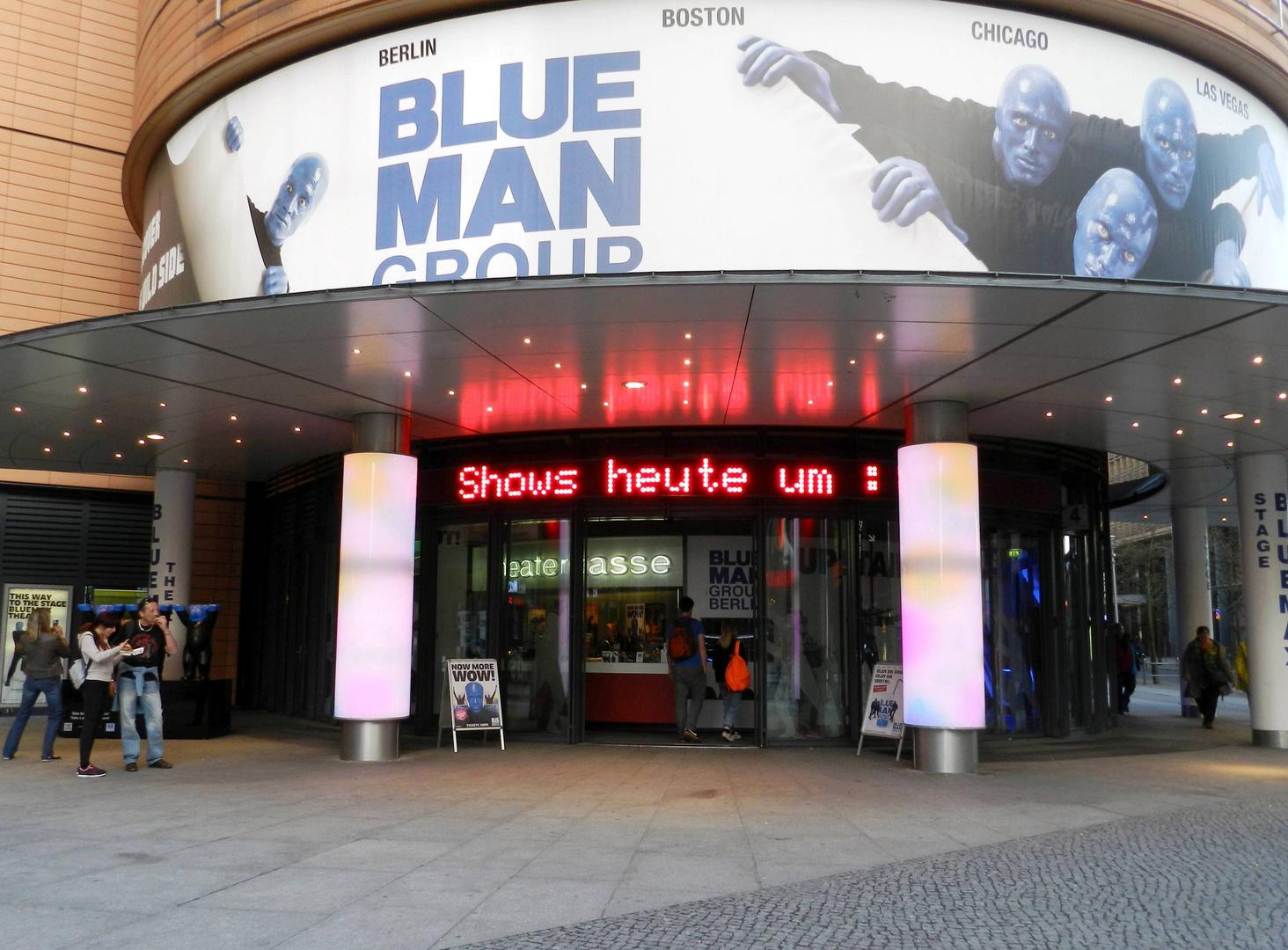 Blue Man Group ...