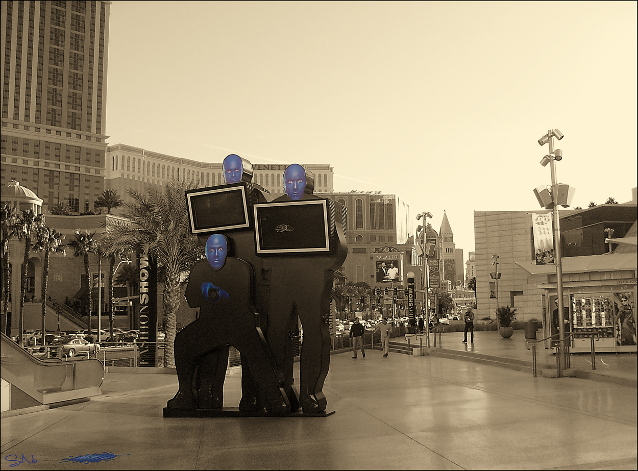 Blue Man Group in Vegas