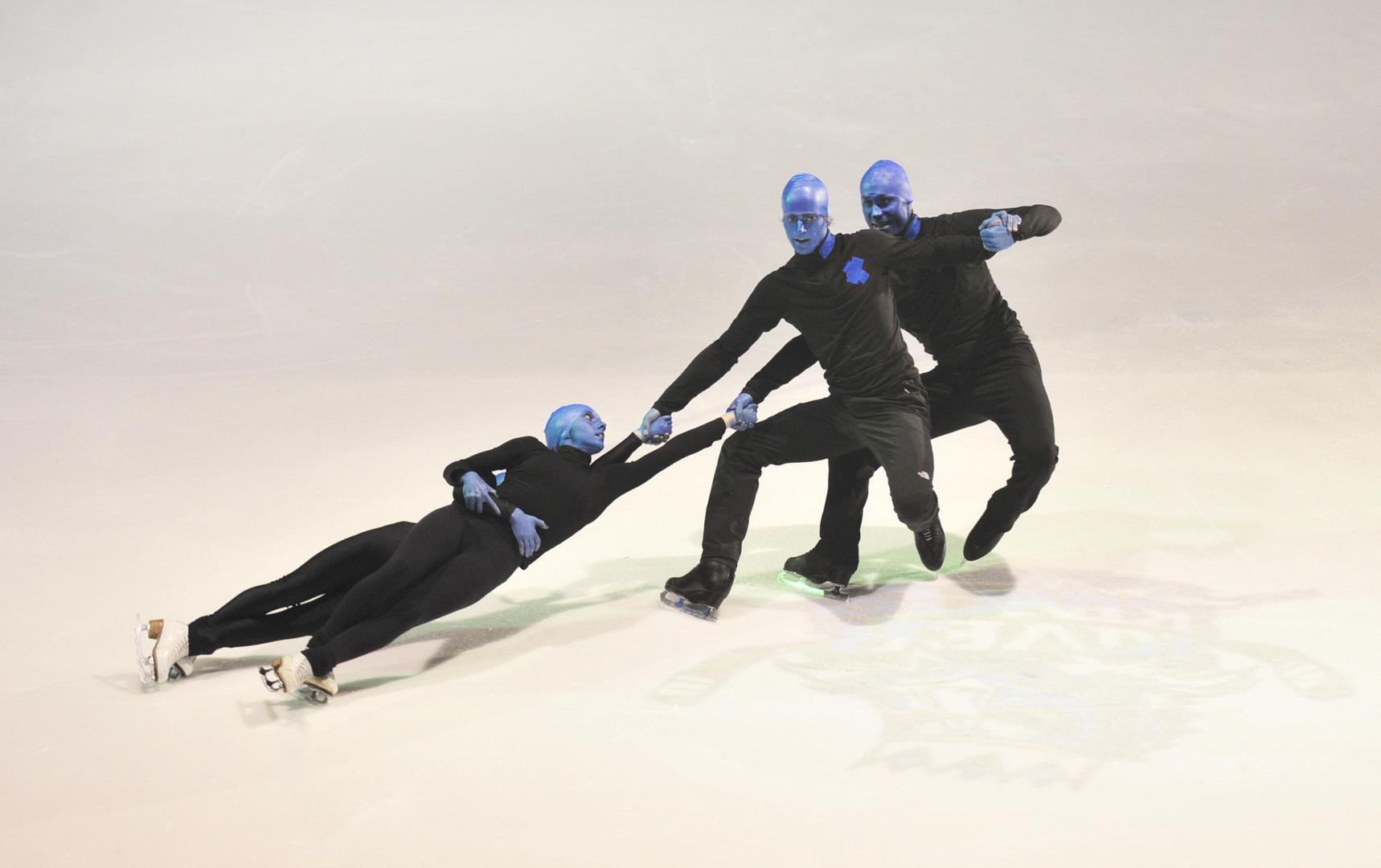 Blue Men Group ! On Ice !