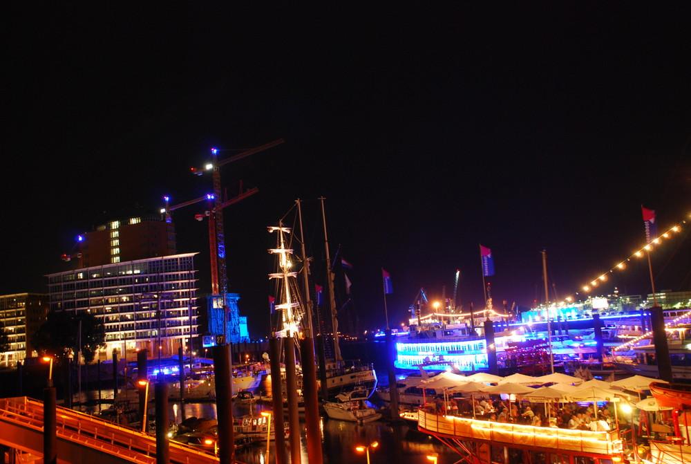 Blue Nights in Hamburg