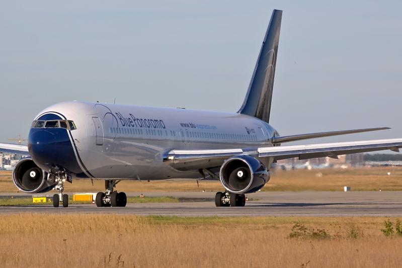 Blue Panorama 767-300ER